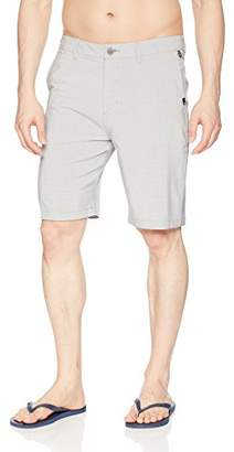 "Quiksilver Men's Union Plaid Amphibian 21"" Boardshort Walk Shorts"