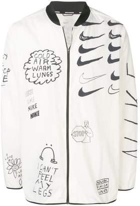 Nike Nathan Bell printed running jacket