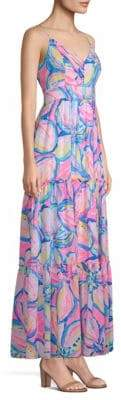 Lilly Pulitzer Melody Floral Tiered Maxi Dress