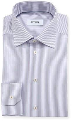 Eton Ground Striped Dress Shirt