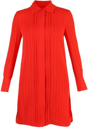 Tory Burch Red Striped Dress