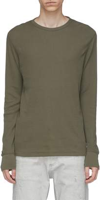 Rag & Bone Waffle knit long sleeve T-shirt