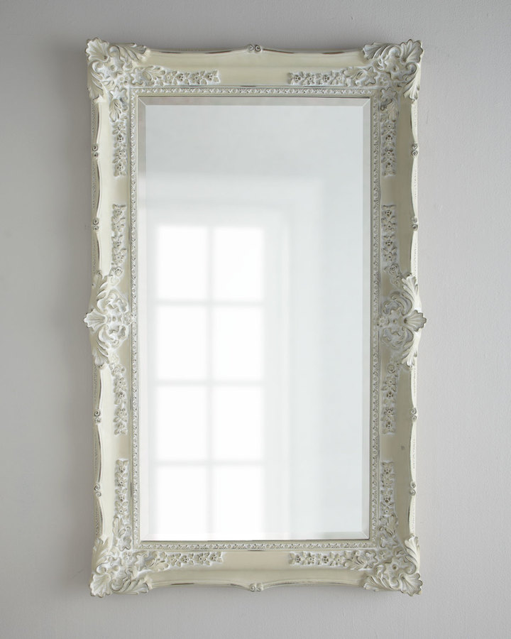 Horchow Antique White Mirror Shopstyle Home