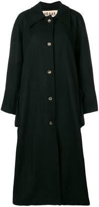 Awake A-line buttoned coat