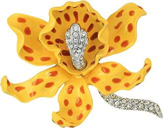 Kenneth Jay Lane Women's Spots Orchid Pin