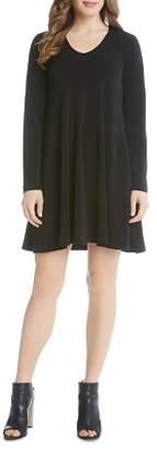 Karen Kane Taylor Long Sleeve Trapeze Dress