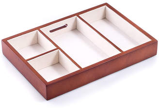 Bey-Berk Cherry Wood Open Valet Tray