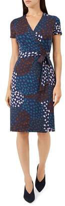Hobbs London Delilah Printed Wrap Dress