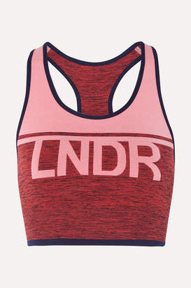 Lndr A-team Color-block Stretch Sports Bra