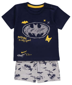 Batman George DC Comics Top & Short Outfit