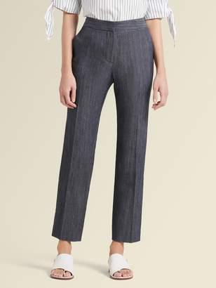 DKNY Stretch Twill Straight-leg Pant