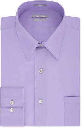 Van Heusen Men's Fitted Poplin Dress Shirt