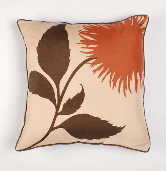 Thomas Paul Dahlia Silk Twill Pillow