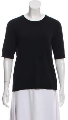 Tory Burch Short Sleeve Cashmere Sweater
