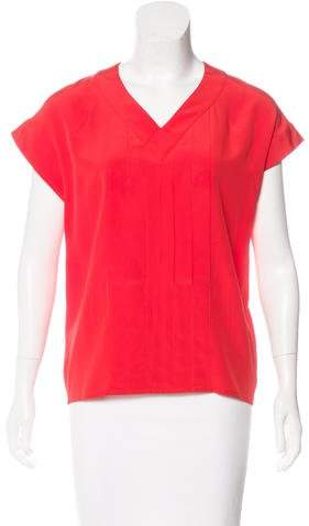 Chanel Vintage Pleated Blouse
