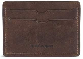 Trask 'Jackson' Bison Leather Card Case