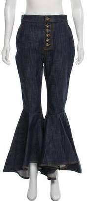 Ellery High-Rise Wide-Leg Jeans
