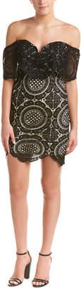 DAY Birger et Mikkelsen Soieblu Off-The-Shoulder Lace Dress