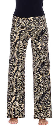 WHITE MARK White Mark Summer Time Paisley Palazzo Pants