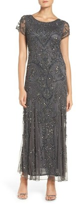 Petite Women's Pisarro Nights Embellished Mesh Gown $238 thestylecure.com