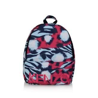 Kenzo KidsGirls Fuchsia Tiger Deophee Backpack