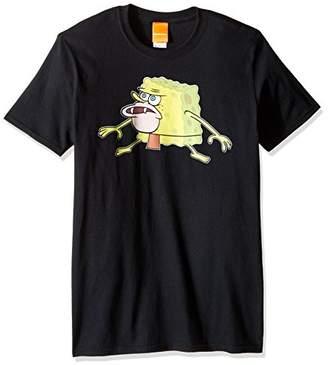 Nickelodeon Men's Spongebob Caveman Meme T-Shirt