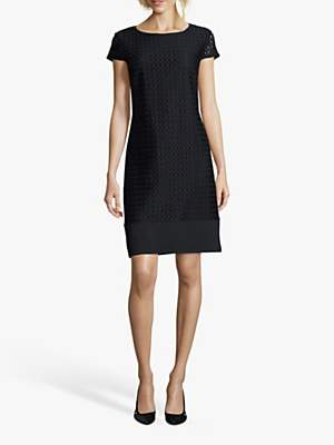 Betty Barclay Lace Shift Dress, Dark Sky