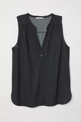 H&M Sleeveless Top - Black