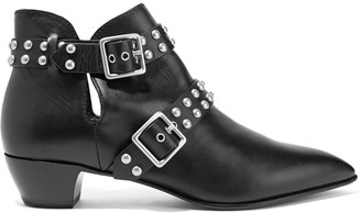 Marc by Marc Jacobs Studded leather ankle boots $770 thestylecure.com