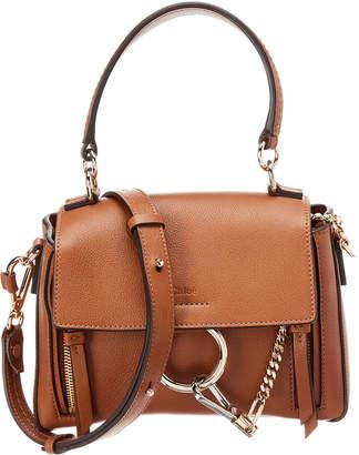 Chloé Faye Day Mini Leather Shoulder Bag