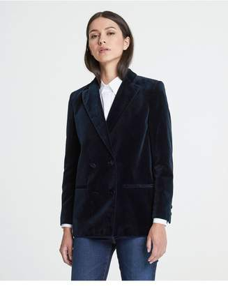 AG Jeans The Renzo Blazer - Blue Vault
