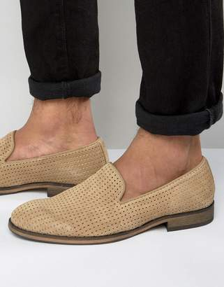 Selected Bolton Perforated Loafers