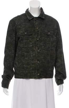 Rag & Bone Lightweight Camouflage Jacket