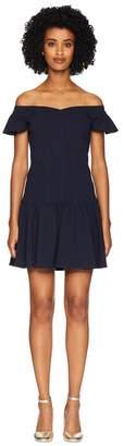 Rebecca Taylor Sleeveless Stretch Texture Dress Women's Dress