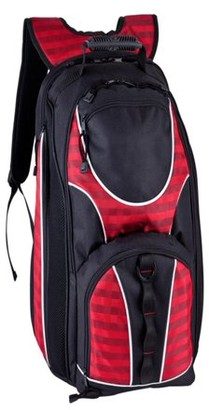 """Travelwell DAMIERS 17"""" CHECKPOINT FRIENDLY COMPU. BACKPACK"""