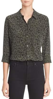 Rails Kate Cheetah Print Silk Shirt