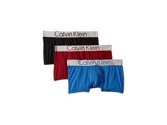 Calvin Klein Underwear Steel Micro 3-Pack Low Rise Trunk