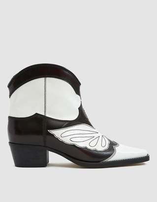 Ganni Meg Short Cowboy Boot