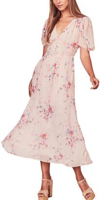 LoveShackFancy Ariel Silk Maxi Dress