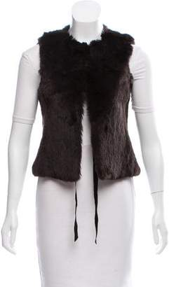 Theory Hope Fur Vest
