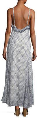 Max Studio Floral-Print Maxi Dress