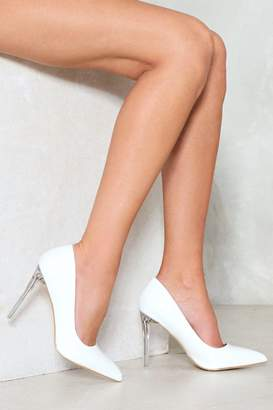 Nasty Gal Court Danger Patent Heel