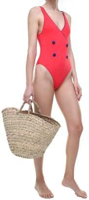 The Juliette Tuxedo-style Swimsuit