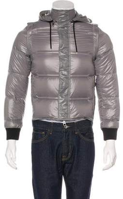 Christian Dior Hooded Down Convertible Jacket