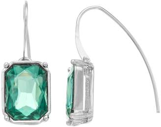 Vera Wang Simply Vera Simulated Crystal Threader Drop Earrings