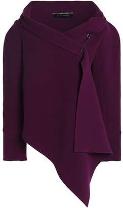 Roland Mouret Embellished Stretch Wool-Crepe Jacket