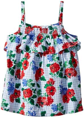 Janie and Jack Sleeveless Floral Top Girl's Clothing