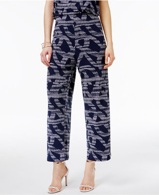 Alfani Knit Cropped Culottes, Only at Macy's $59.50 thestylecure.com