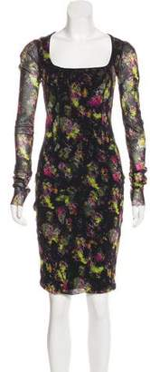 Jean Paul Gaultier Soleil Knee-Length Mesh Dress w/ Tags