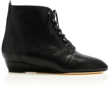 June lace-up bootie
